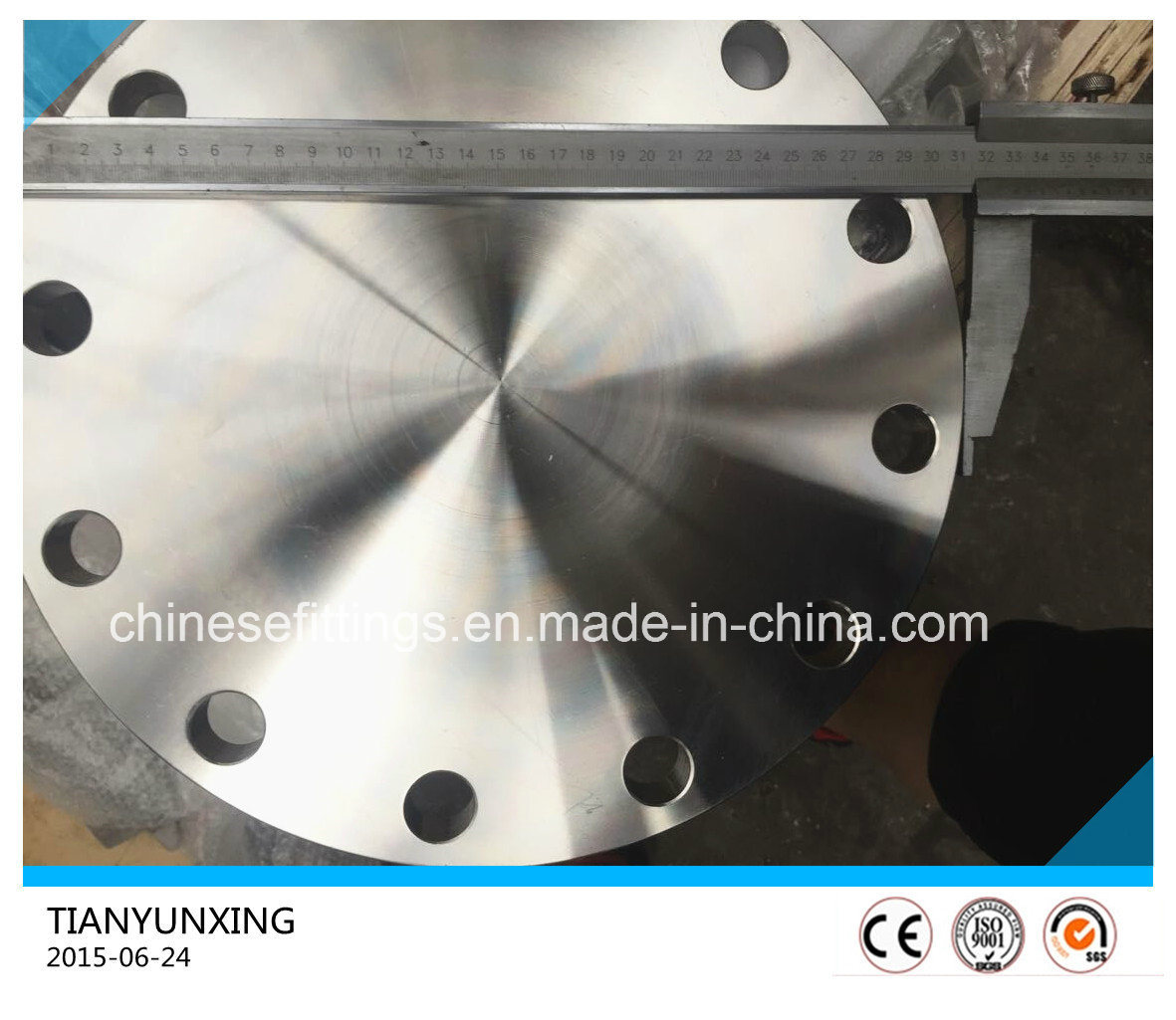 Forged JIS B2220 S31803 Deplex Stainless Steel Blind Flange