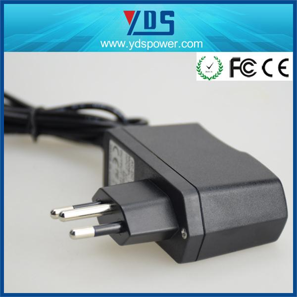 AC/DC Brazil Plug 12V 1A 12W LED Power Adapter