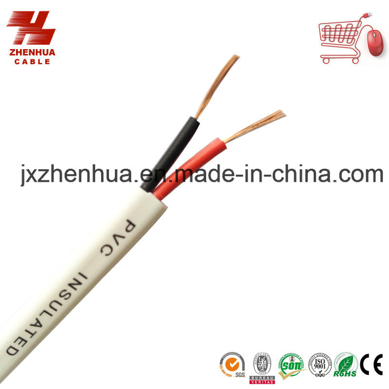 2X0.75mm 2X1.0mm 2X1.5mm Flexible Twin Electric Cable Price