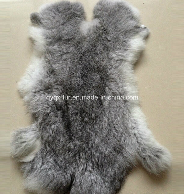 Factory Wholesale Natural and Fluffy 100% Real Rabbit Skin