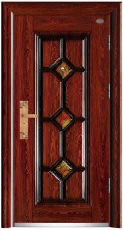 Steel Security Door for Villa Project