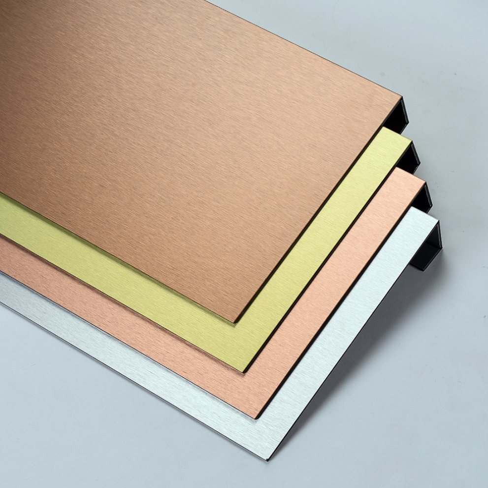 Aluis Interior Brushed Aluminium Composite Panel