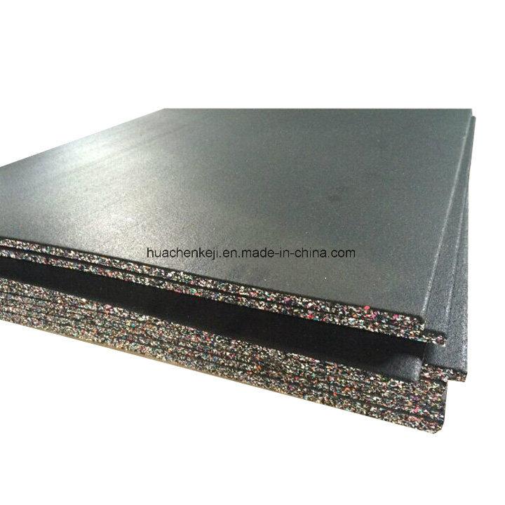 Wear Resistant Colorful EPDM Surface Gym Sport Place Rubber Floor Tile