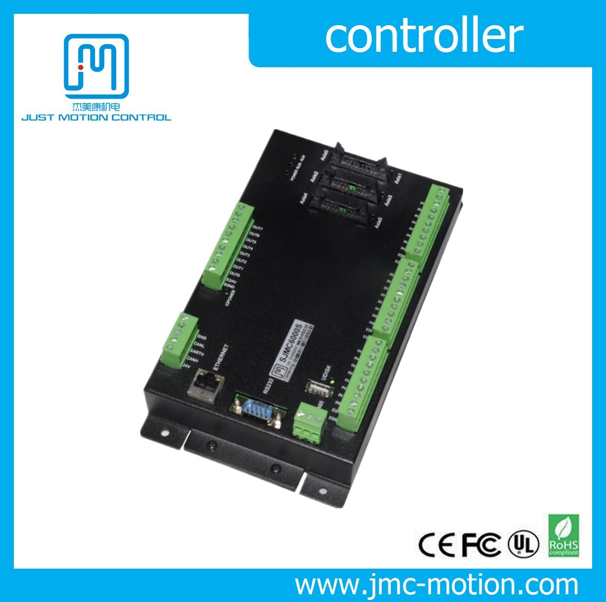 6 Axis Motion Controller Board