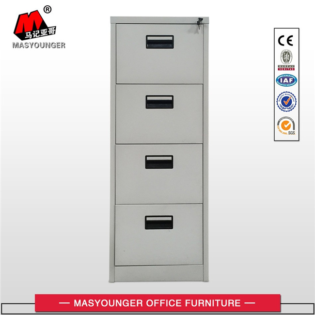 Kd Construction Steel Office Furniture 4 Drawer File Storage Cabinet