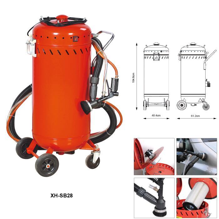 28 Gallon Abraisive Sandblaster with Vacuum