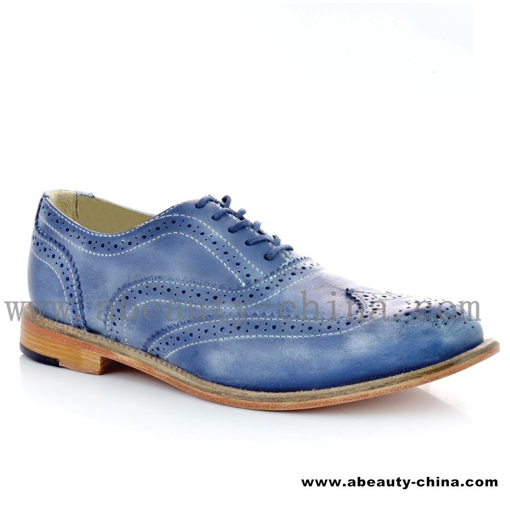 china s fashion blue formal shoes m s classic stylish