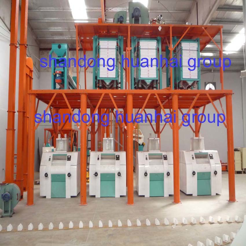 50tpd 80tpd 100tpd 200tpd Complete Flour Mill