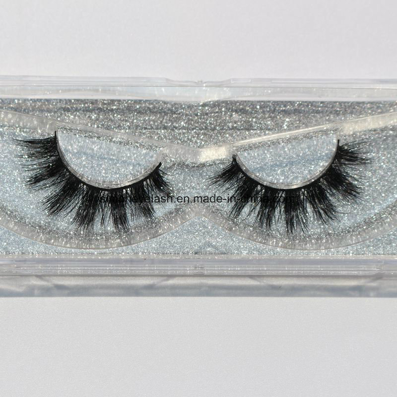 Mix Size Natural Looking Handmade False Eyelashes for Party Makeup