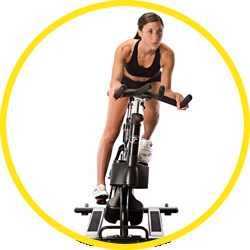 Fitness, Fitness Bike, Gym Equipment, Commercial Realryder Spinning Bike (HT-2012)