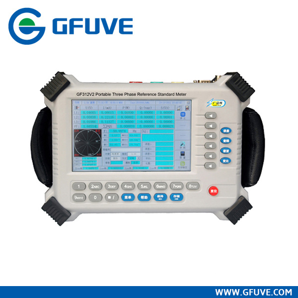 Portable Electrical Three Phase Energy Meter Field Calibrator