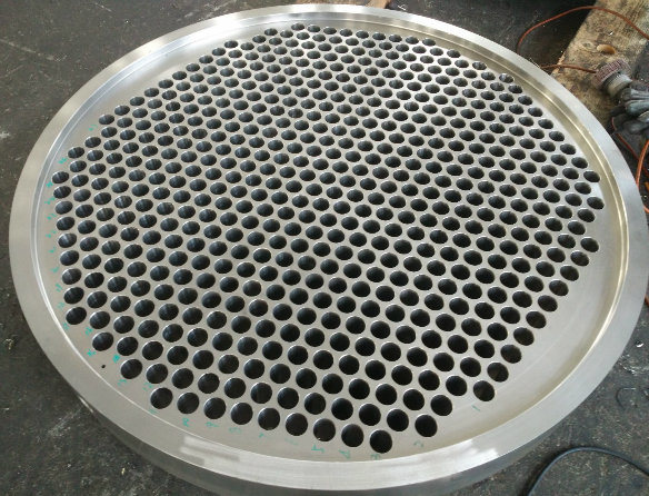 N8810 Alloy Steel Haxt Exchanger or Boiler or Condenser Tube Sheet