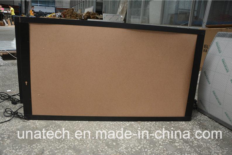 Aluminum Snap Frame Menu Board LED Signboard Light Box