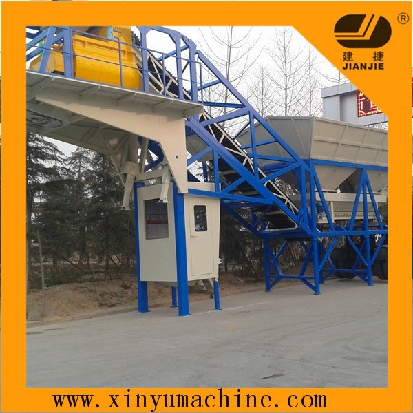Mobile Concrete Mixing Plant (HZS35)