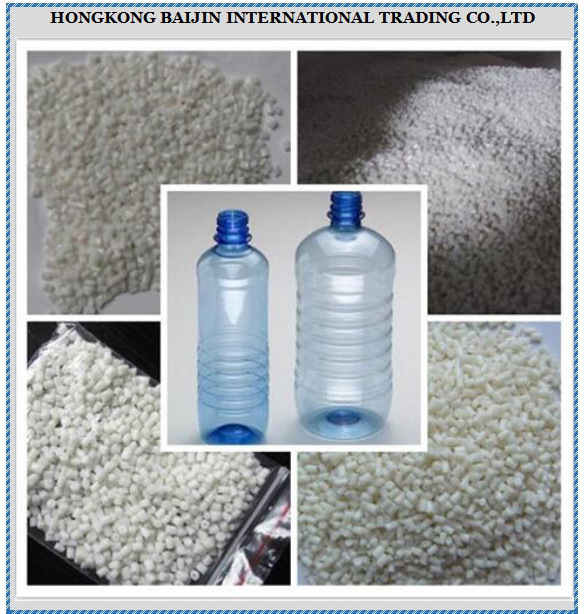 Polyethylene Terephthalate Granules / PET Resin for Water Bottles