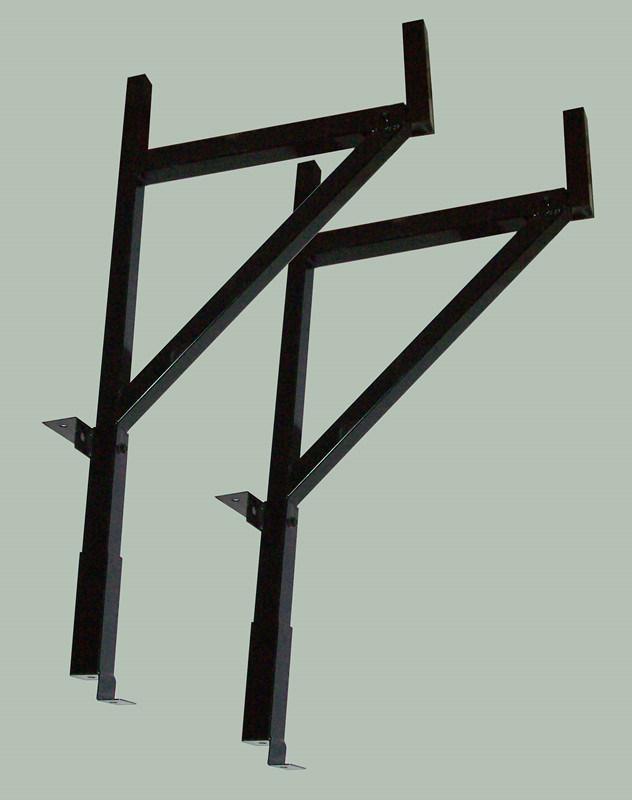 Steel Pick up Side Adjustable Truck Ladder Racks