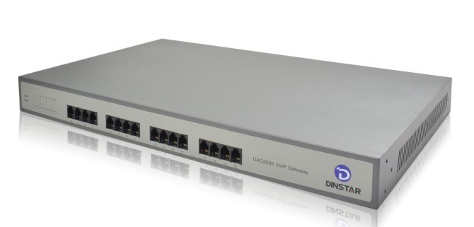 VoIP SIP MGCP Gateway for Sme with 8s8o Port Echo Cancellation Voice Gateway (DAG2000-8FXS8FXO)