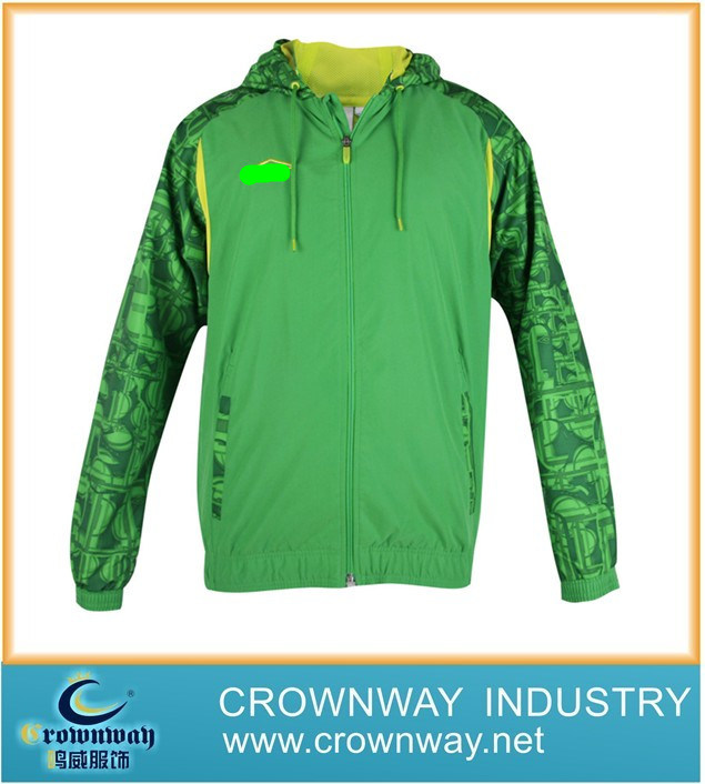 Cotton Racing Sport Basketball Coat with High Quality (CW-SW-38)