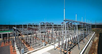 132 Kv Steel Power Substation Structure