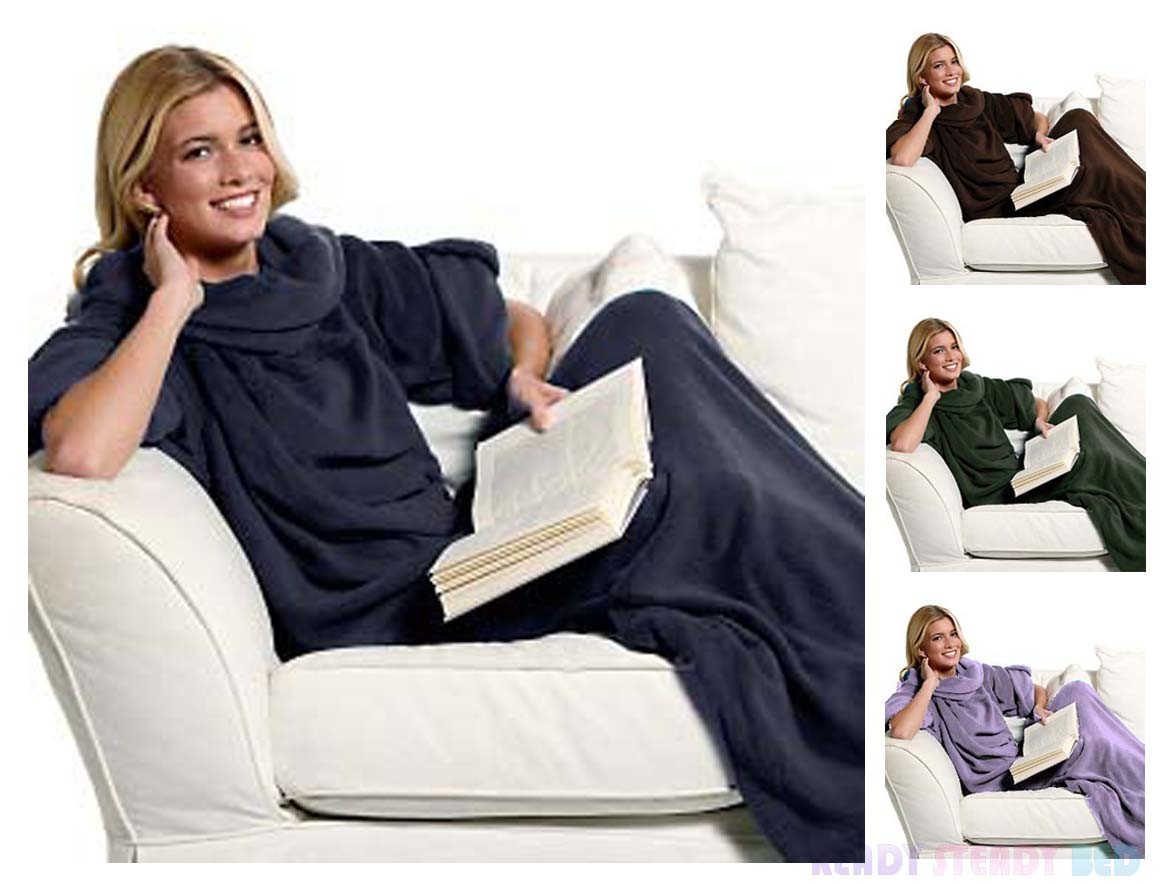 2016 Newst Snuggie TV Blanket with Sleeves