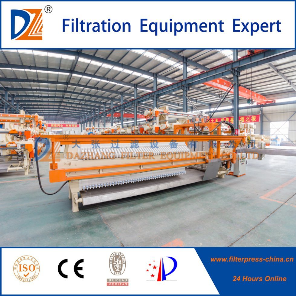 Automatic Cloth Washing System Filter Press