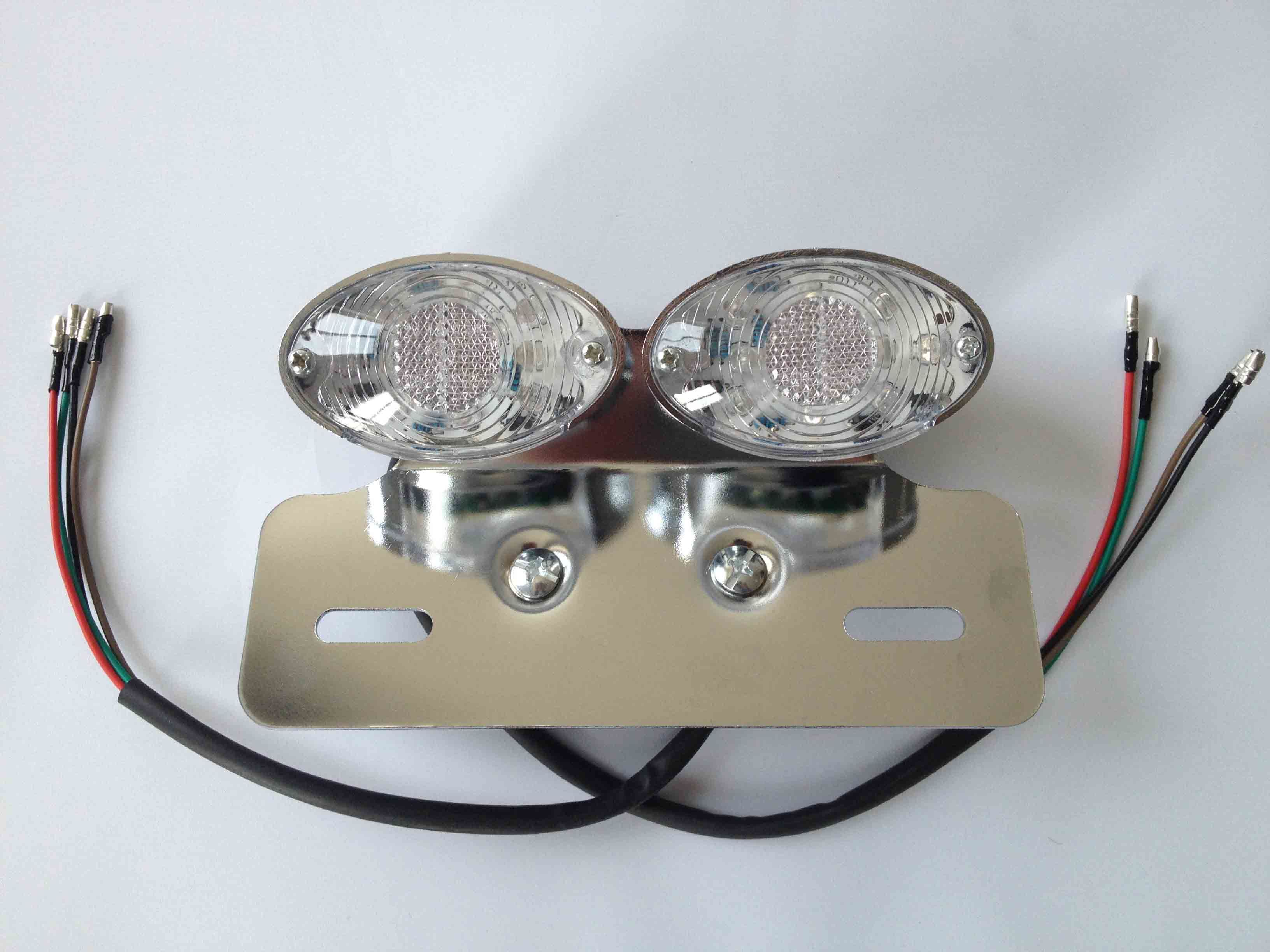 EEC Chrome LED Tail Light for ATV