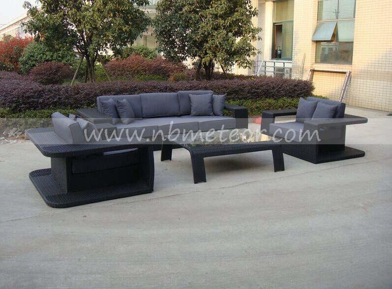 Mtc-278 Aluminum Outdoor Furniture Sofa Set Garden/Rattan Furniture