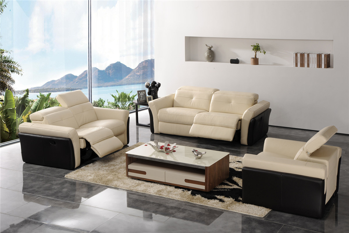 China Modern Living Room Furniture Leather Sofa 714 Photos Pictures