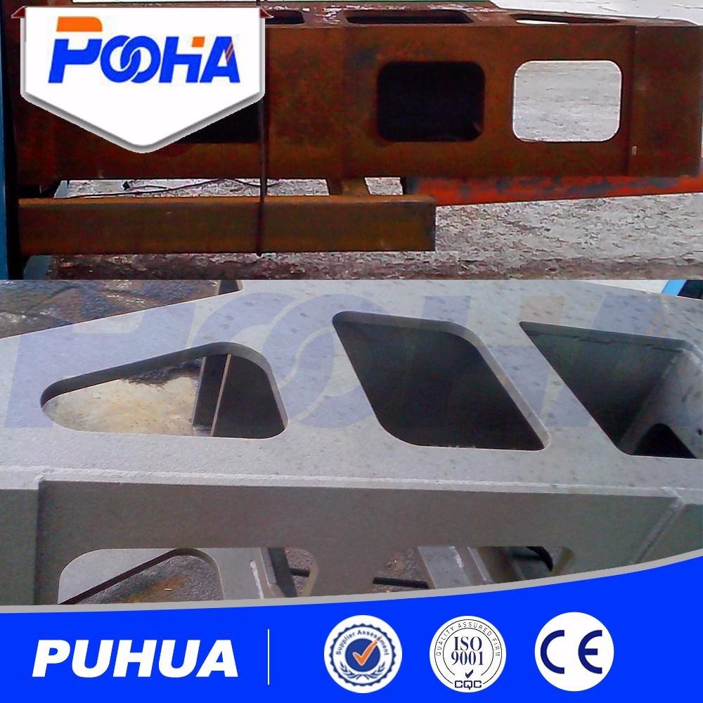 Steel Shot Abrasive Shot Blasting Equipment/Steel Profiles Shot Blasting Machine