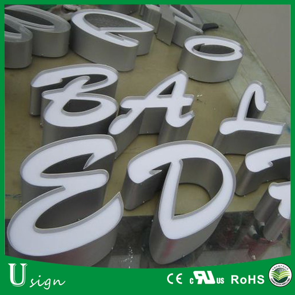 Customized Large Advertising LED Aluminium Channel Letter for Business Sign