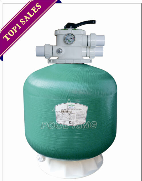 Plastic Tank with Fiberglass Topmount Sand Filter for Swimming Pool