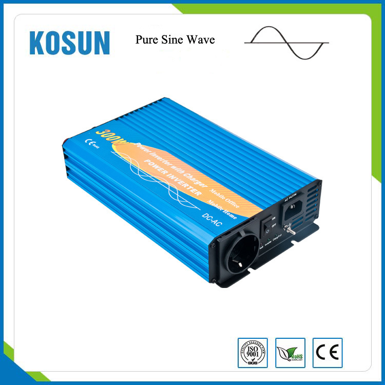 Small Power Inverter with Battery Charger 300W 12V 220V
