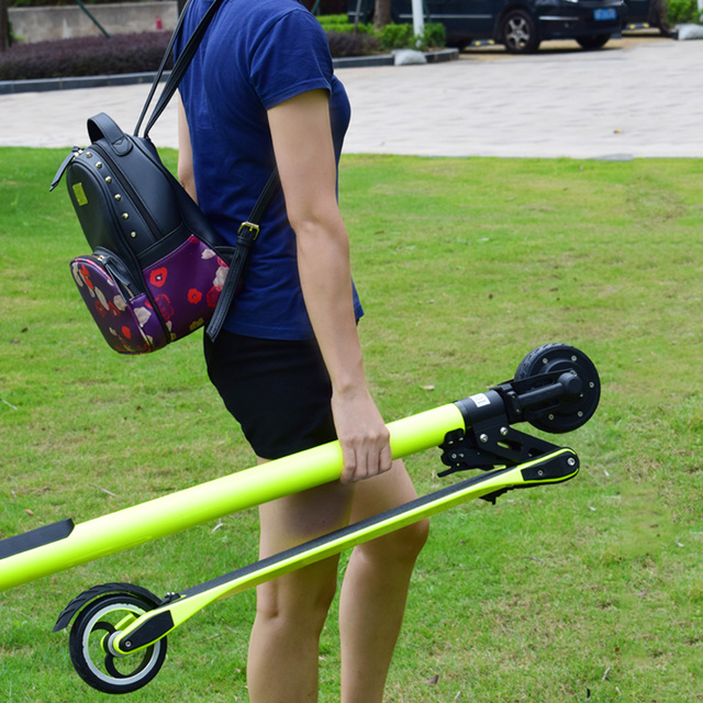 5 Inch Lightweight Folding Electric Scooter Carbon Fiber Electrical Scooter