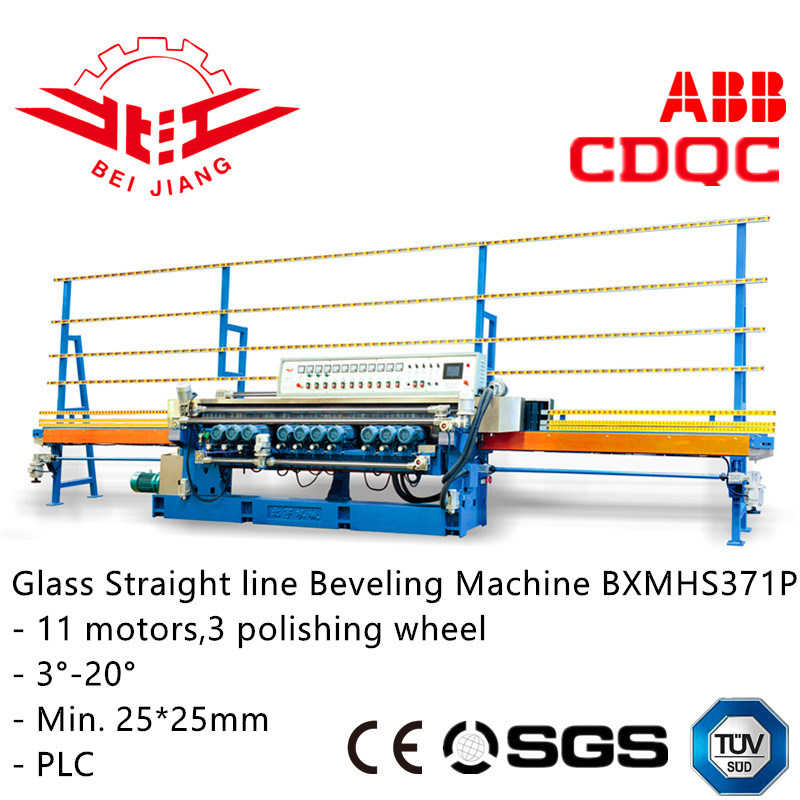 PLC Control Glass / Mirror/ Mosaic Beveling Machine (BXMHS371P)