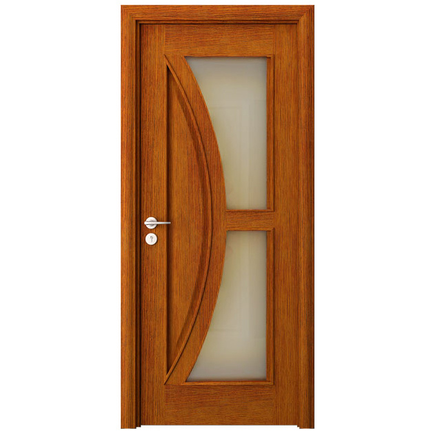 China interior wood door veneer finish door wooden door for Wood veneer interior doors