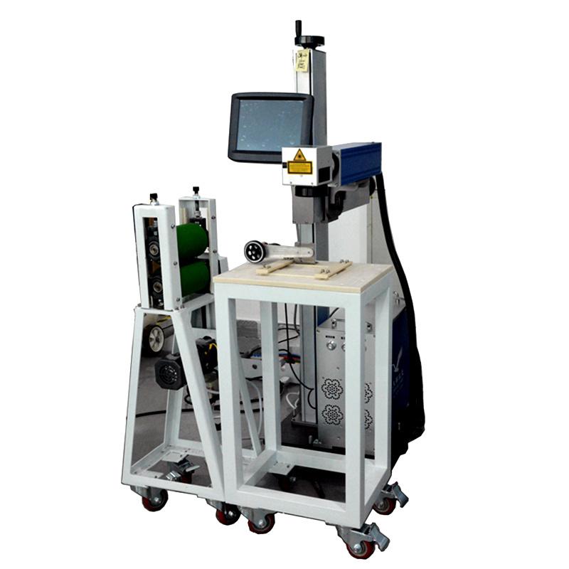 Customized Automatic Marking Line Laser Marking Machine Mark on Plastic