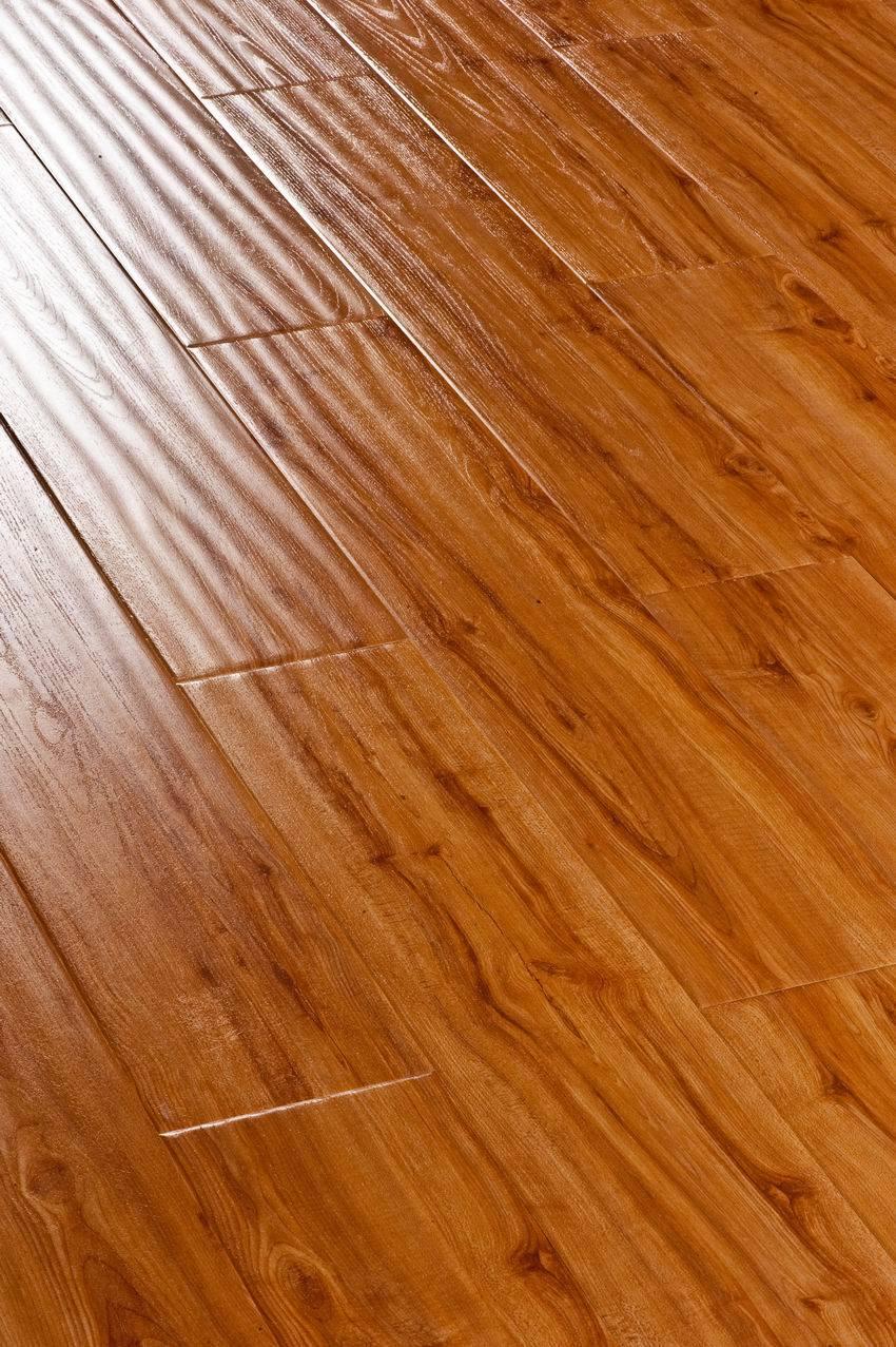 China u groove handscraped laminate wooden flooring sd for Us laminate flooring