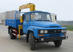 3000kgs Telescopic Truck-Mounted Crane