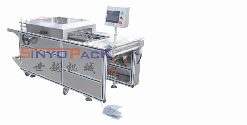 Semi-Auto Adjustable Cellophane 3D Overwrapping Machine with Tear Tape (SY-350)