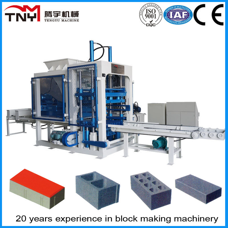 Automatic Paver Brick Making Machine (QT10-15)