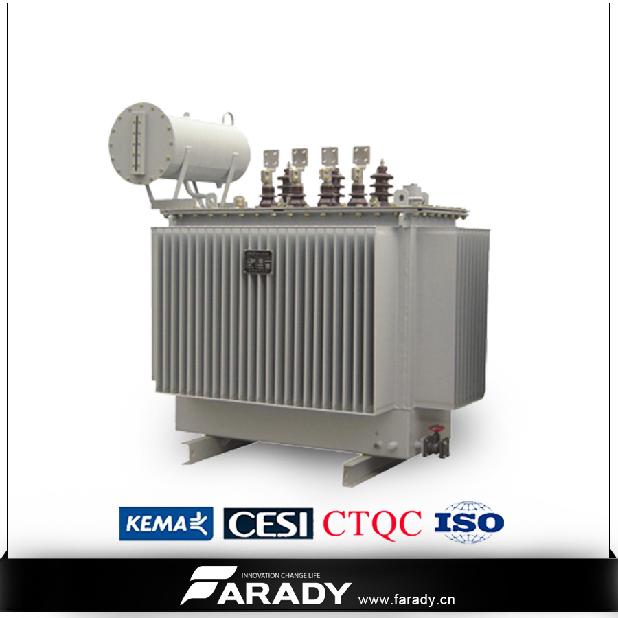 11kv 50kVA Pole Mounted Oil Type Distribution Transformer with Conversator S9