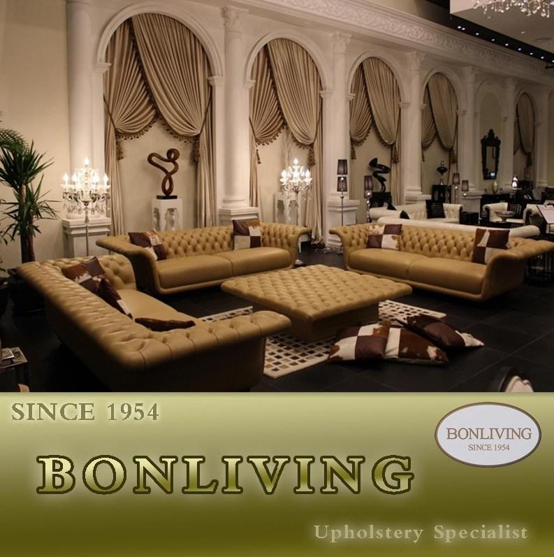 High Quality Living Room Leather Sofa (B1)