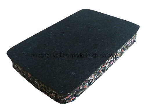 Wear Resistant Colorful EPDM Surface Gym Sport Place Rubber Floor Tile