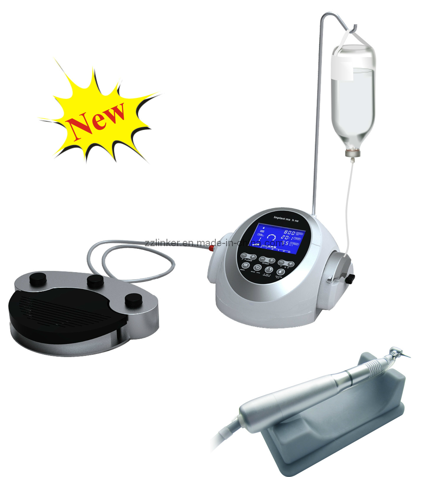 Coxo C-Sailor Dental Implant Surgery System/Coxo Implant Machine/C-Sailor Implant Motor