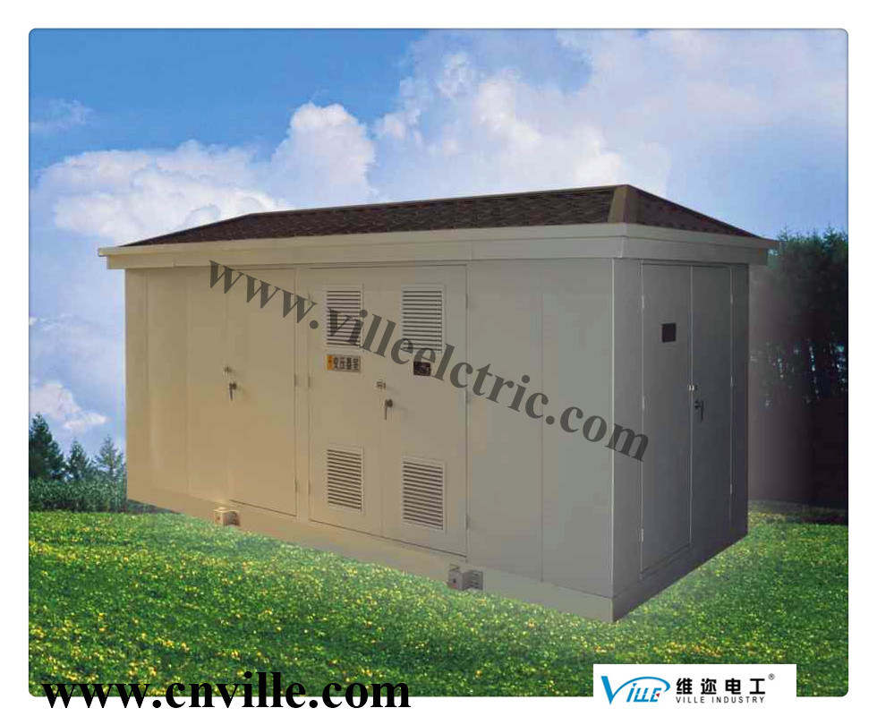 33kv Prefabricated Distribution Combined Substation Power Transmission Power Supply Substation, Prefabricated Substation, Combined Substation