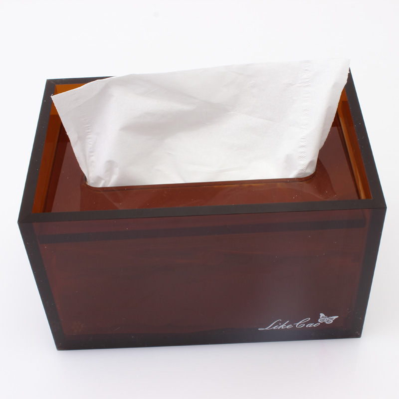 Acrylic Tissue Box/ Towel Box/Paper Case