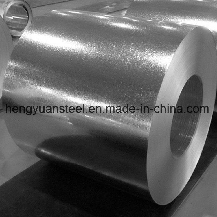 Small Spangle Z180 Galvanized Steel Coil Gi Coil