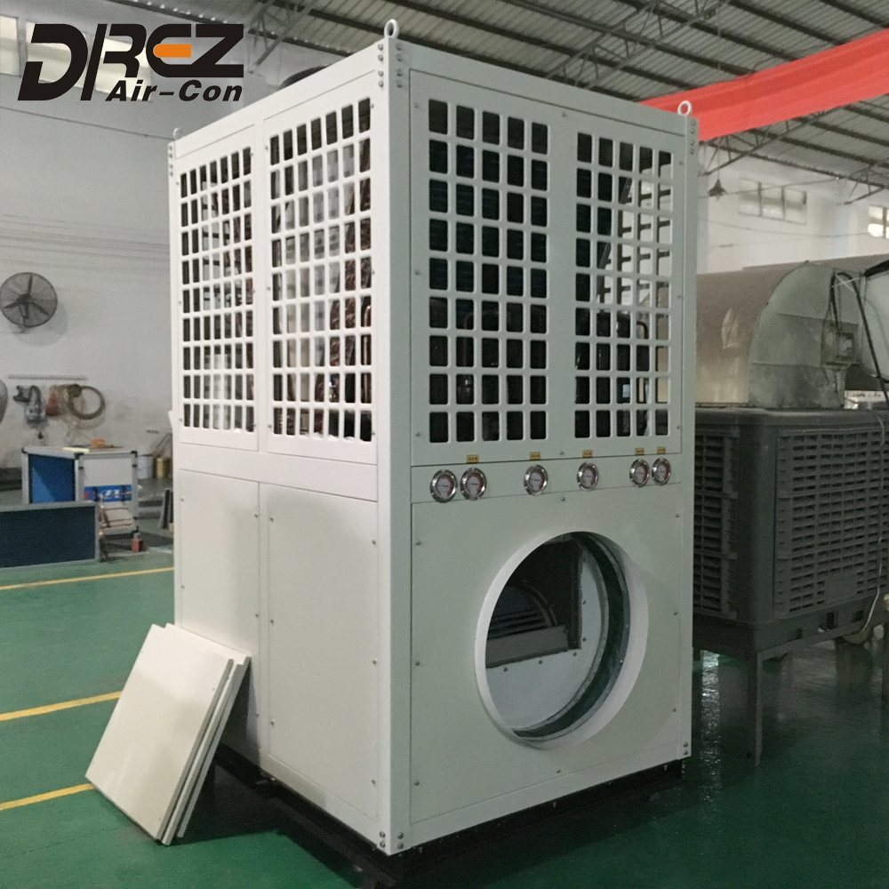 Eco-Friendly 15HP~40HP Ductable Air Conditioner for Wedding Party Marquee Tent