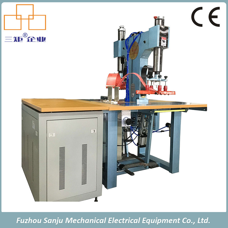 High Frequency Leather Welding and Embossing Machine for Wallet/ Luggage Bag
