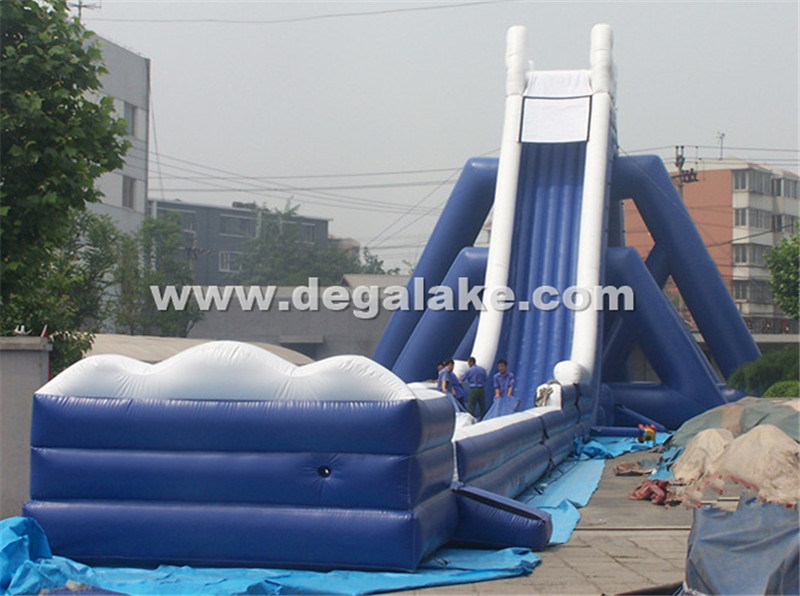164feet/50mh Giant Inflatable Alps Water Slide for Adult